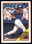 1988 Topps #505  Willie Upshaw  Front Thumbnail