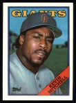 1988 Topps #497  Kevin Mitchell  Front Thumbnail