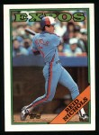 1988 Topps #748  Reid Nichols  Front Thumbnail