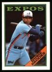 1988 Topps #50  Hubie Brooks  Front Thumbnail
