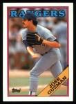 1988 Topps #563  Jose Guzman  Front Thumbnail