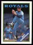 1988 Topps #540  Bret Saberhagen  Front Thumbnail