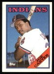 1988 Topps #75  Joe Carter  Front Thumbnail