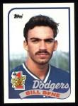 1989 Topps #84   -  Bill Bene #1 Draft Pick Front Thumbnail