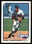 1989 Topps #467  Jim Walewander  Front Thumbnail