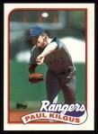 1989 Topps #276  Paul Kilgus  Front Thumbnail