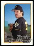 1989 Topps #522  Randy Kramer  Front Thumbnail