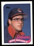 1989 Topps #443  Rod Nichols  Front Thumbnail
