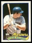 1989 Topps #336  Steve Balboni  Front Thumbnail