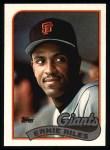 1989 Topps #676  Ernie Riles  Front Thumbnail