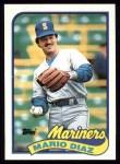 1989 Topps #309  Mario Diaz  Front Thumbnail