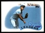 1989 Topps #789   -  Bo Jackson Royals Team Front Thumbnail
