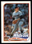 1989 Topps #247  Shawn Hillegas  Front Thumbnail