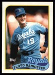 1989 Topps #638  Floyd Bannister  Front Thumbnail