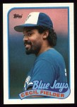 1989 Topps #541  Cecil Fielder  Front Thumbnail
