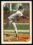 1989 Topps #427  Eric Show  Front Thumbnail