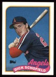 1989 Topps #477  Dick Schofield  Front Thumbnail