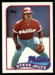1989 Topps #707  Steve Jeltz  Front Thumbnail