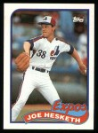 1989 Topps #614  Joe Hesketh  Front Thumbnail