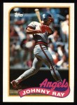1989 Topps #455  Johnny Ray  Front Thumbnail