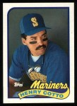 1989 Topps #468  Henry Cotto  Front Thumbnail