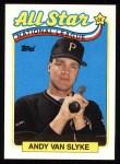 1989 Topps #392   -  Andy Van Slyke All-Star Front Thumbnail
