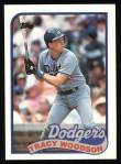1989 Topps #306  Tracy Woodson  Front Thumbnail