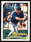 1989 Topps #413  Mike Kingery  Front Thumbnail