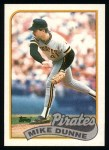 1989 Topps #165  Mike Dunne  Front Thumbnail