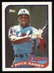1989 Topps #560  Tim Raines  Front Thumbnail