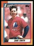 1990 Topps #48  Zane Smith  Front Thumbnail