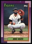 1990 Topps #366  Mike Heath  Front Thumbnail