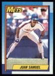 1990 Topps #85  Juan Samuel  Front Thumbnail