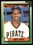 1990 Topps #552  Mike (Miss.) Smith  Front Thumbnail