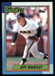 1990 Topps #703  Jeff Brantley  Front Thumbnail