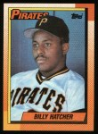 1990 Topps #119  Billy Hatcher  Front Thumbnail