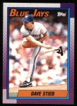 1990 Topps #320  Dave Stieb  Front Thumbnail