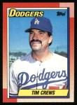 1990 Topps #551  Tim Crews  Front Thumbnail