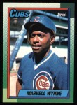 1990 Topps #256  Marvell Wynne  Front Thumbnail