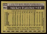1990 Topps #226  Mickey Hatcher  Back Thumbnail