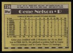 1990 Topps #726  Gene Nelson  Back Thumbnail