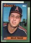 1990 Topps #477  Willie Fraser  Front Thumbnail