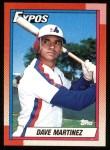 1990 Topps #228  Dave Martinez  Front Thumbnail