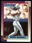 1990 Topps #329  Oddibe McDowell  Front Thumbnail