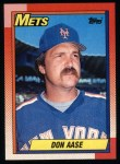 1990 Topps #301  Don Aase  Front Thumbnail