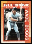 1990 Topps #387   -  Wade Boggs All-Star Front Thumbnail