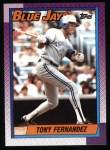 1990 Topps #685  Tony Fernandez  Front Thumbnail