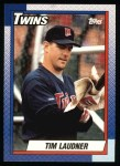 1990 Topps #777  Tim Laudner  Front Thumbnail