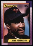 1990 Topps #127  Mike Devereaux  Front Thumbnail