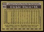 1990 Topps #269  Dickie Thon  Back Thumbnail